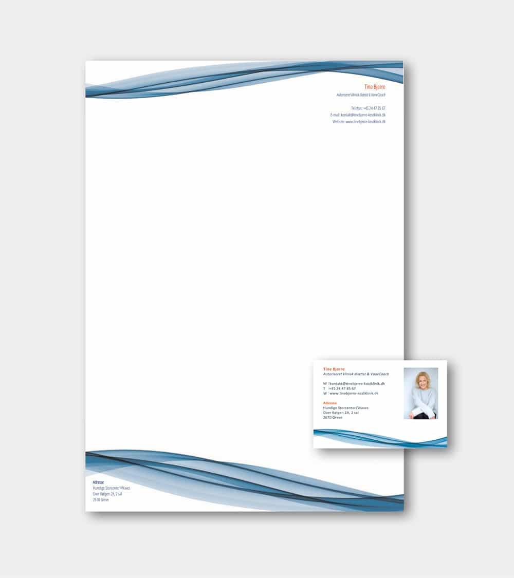 brevpapir design