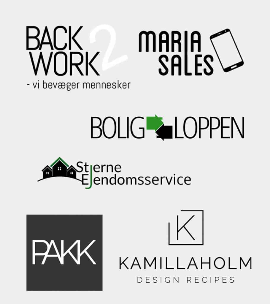 logo til hjemmeside og webshopløsninger